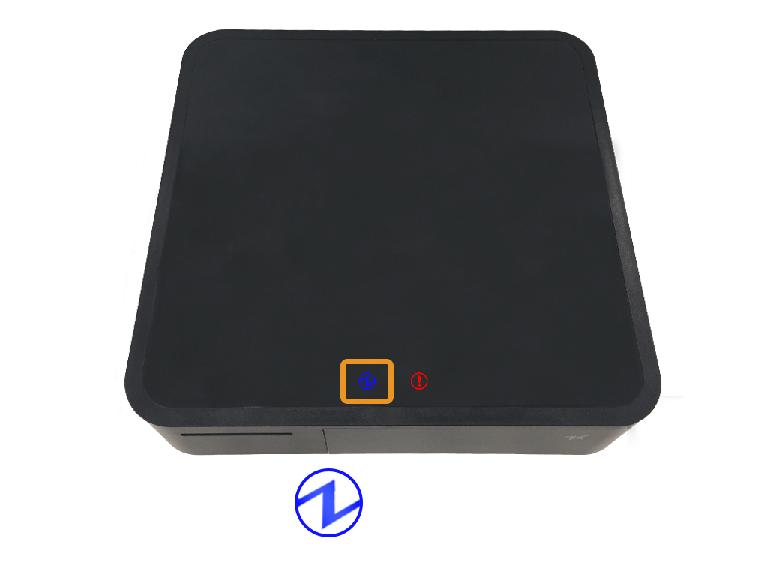 スター精密mPOPプリンター:PowerLEDのみ点灯
